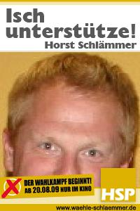 HSP-Wahlkampf