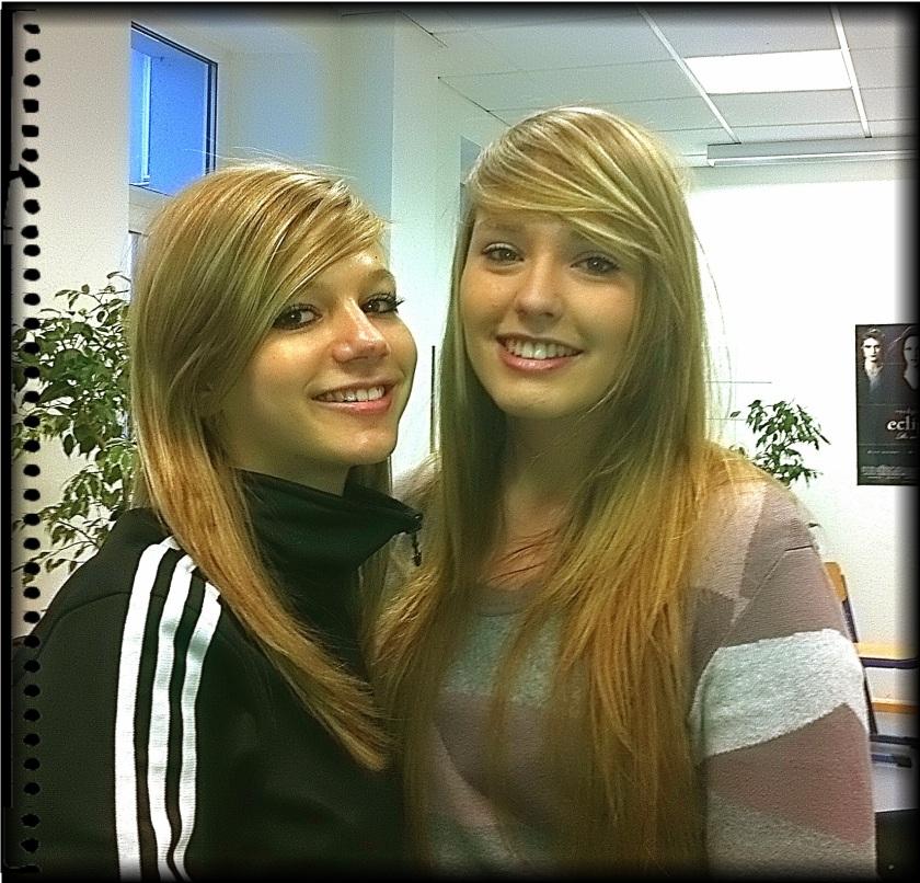Nadine und Rebecca aus der R9a